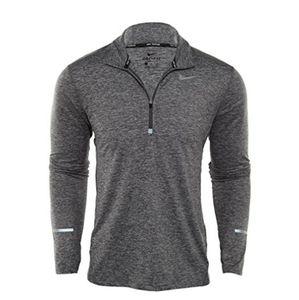 Nike running element Mens Large 1/2 Zip shirt sweatshirt Pullover top 683485 021